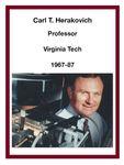 Carl T. Herakovich Professor Virginia Tech 1967-87 by Carl Herakovich