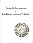 1974 Rose-Hulman Institute of Technology : Ninety-Sixth Commencement