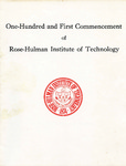 1979 Rose-Hulman Institute of Technology : One-Hundred and First Commencement