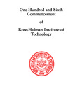 1984 Rose-Hulman Institute of Technology : One-Hundred and Sixth Commencement