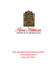 2004 Rose-Hulman Institute of Technology : One-Hundred and Twenty-Sixth Commencement