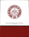 2014 Rose-Hulman Institute of Technology: One Hundred and Thirty-Sixth Commencement by Rose Hulman