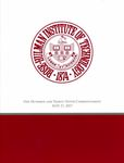 2017 Rose-Hulman Institute of Technology: One Hundred and Thirty-Ninth Commencement by Rose Hulman