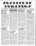 Volume 5, Issue 12 - January 23, 1970 by Institute Inklings Staff