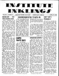 Volume 5, Issue 18 - April 17, 1970 by Institute Inklings Staff
