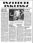 Volume 5, Issue 20 - May 1, 1970 by Institute Inklings Staff
