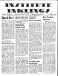 Volume 5, Issue 25 - June 5, 1970 by Institute Inklings Staff