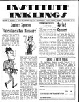 Volume 6, Issue 13 - February 4, 1971 by Institute Inklings Staff