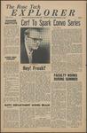The Rose Tech Explorer - September 27, 1963