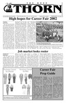 Volume 38 - Issue Career Fair - Wednesday, October 16, 2002