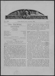Volume 13- Issue 1- October, 1903
