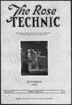 Volume 38 - Issue 3 - December, 1928