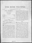 Volume 9 - Issue 1 - October, 1899